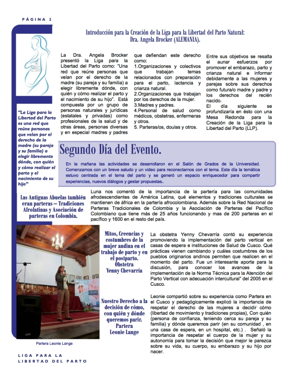 Pachamama Conference Boletín 2