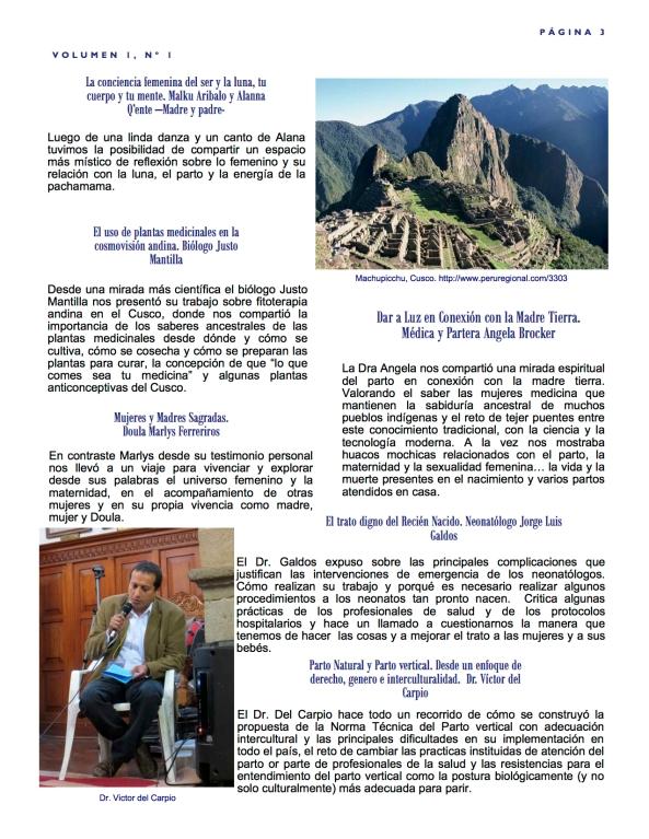 Pachamama Conference Boletín 3