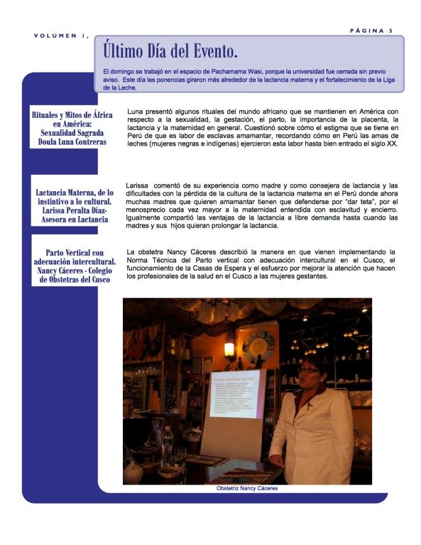 Pachamama Conference Boletín 5