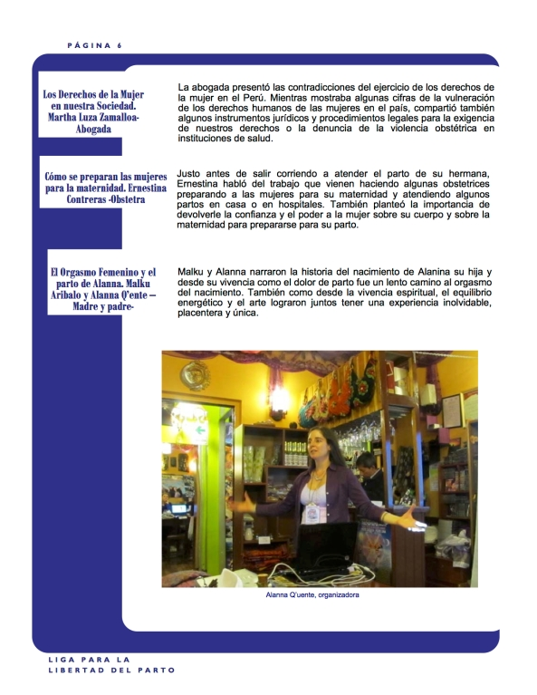 Pachamama Conference Boletín 6